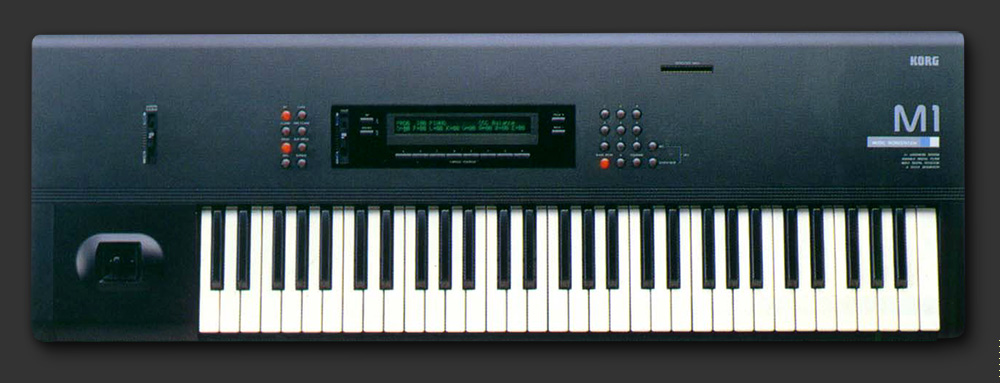 Korg M1 was used by T-ACHE for the drum and bass parts