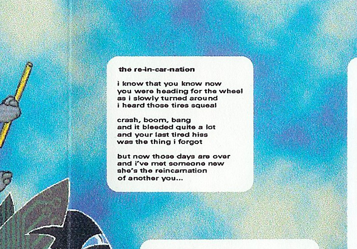 T-ACHE God on the Ladder - Retrospective 91 - 97, Album Cover, excerpt, lyrics print