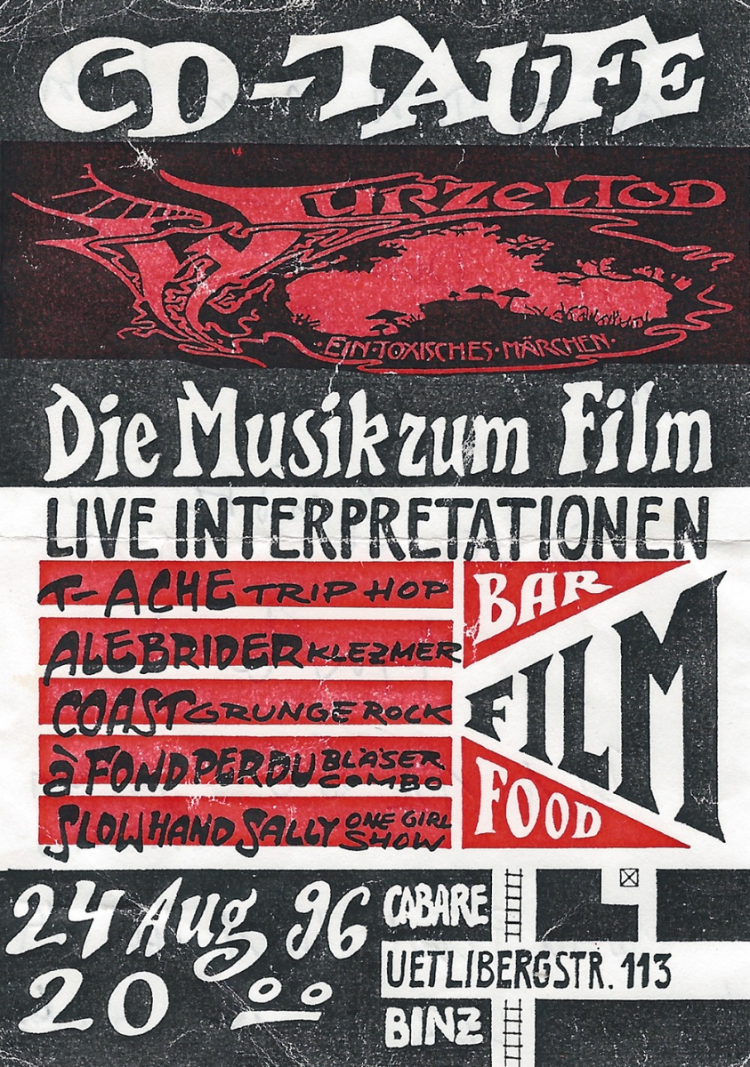 Flyer CD-Taufe, wurzeltod